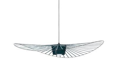 Lighting - Pendant Lighting - Vertigo Pendant - small Ø 140 cm by Petite Friture - Green-blue - Fibreglass, Polyurethane
