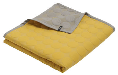 Interni - Per bambini - Plaid Baby Dot - / 175 x 125 cm di Hay - Giallo sole - Cotone