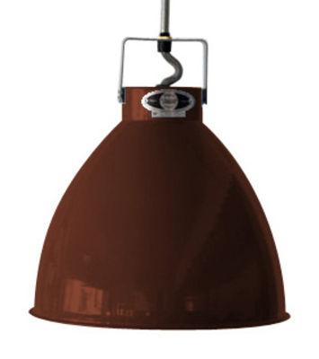 Suspension Augustin Large Ø 36 cm - Jieldé chocolat brillant en métal