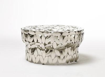 Table Basse Foliae Opinion Ciatti Argent Metal Made In Design