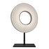 Iris Table lamp - LED / H 61 cm - Fabric & double-sided lighting by Dix Heures Dix