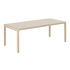 Table rectangulaire Workshop / Linoleum - 200 x 92 cm - Muuto