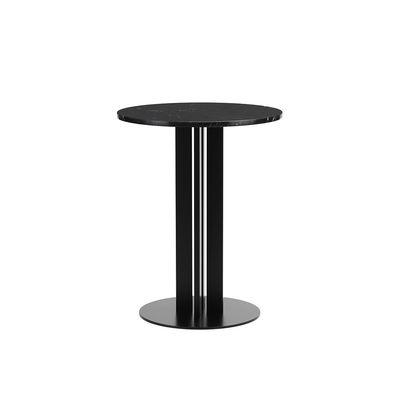 Table ronde Scala / Ø 60 cm - Marbre noir - Normann Copenhagen noir en pierre