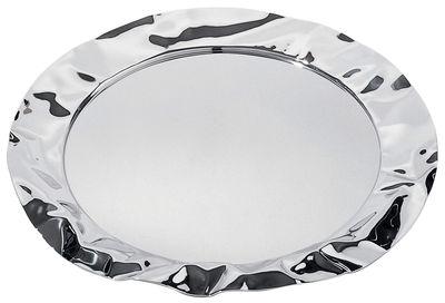 Tischkultur - Platten - Foix Tablett - Alessi - Stahl - Stahl