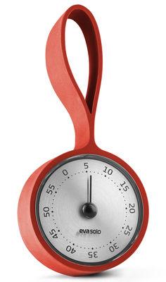 Cucina - Utensili da cucina - Timer - / Con cinghia di Eva Solo - Dusty arancione - Acciaio inossidabile, Silicone