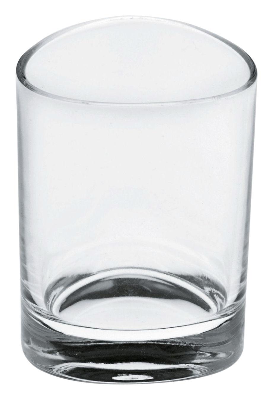 Tavola - Bicchieri  - Bicchiere da liquore Colombina di Alessi - Cristallo trasparente -  H 6,3 cm - Vetro