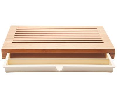 Tableware - Knives and chopping boards - Sbriciola - Breadboard in bamboo - Natural bamboo wood - Bamboo, Thermoplastic resin