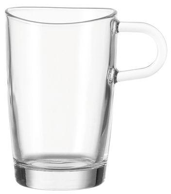 Tableware - Coffee Mugs & Tea Cups - Loop Cup by Leonardo - Transparent - Glass