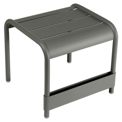 Furniture - Coffee Tables - Luxembourg End table - L 42 cm by Fermob - Rosemary - Lacquered aluminium