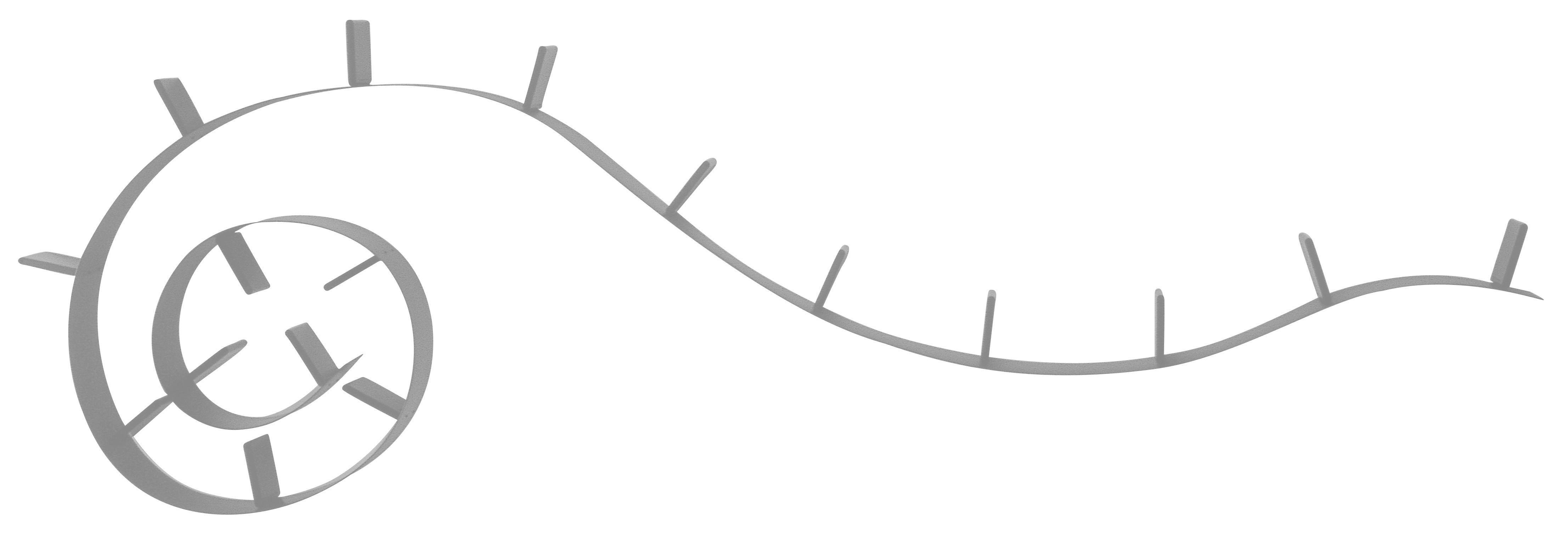 Mobilier - Etagères & bibliothèques - Etagère Bookworm / L 820 cm - Kartell - Aluminium - PVC