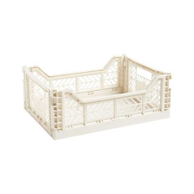 Déco - Pour les enfants - Panier Colour Crate Medium / 40 x 30 cm - Hay - Beige - Polypropylène