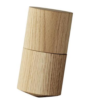 Pilon et mortier Volvi / Pour poivre - Chêne - AYTM bois naturel en bois