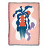 Plaid Badu - / By Mina Wright - 137 x 178 cm di Slowdown Studio