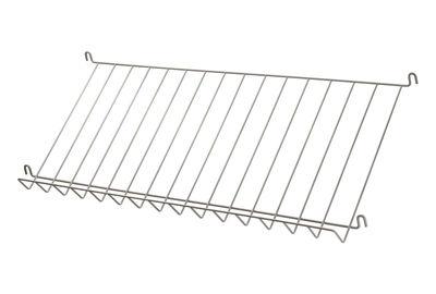 Möbel - Regale und Bücherregale - String System Regal / Gitter - Zeitschriftenhalter & Schuhständer - L 78 cm - String Furniture - Beige - lackierter Stahl