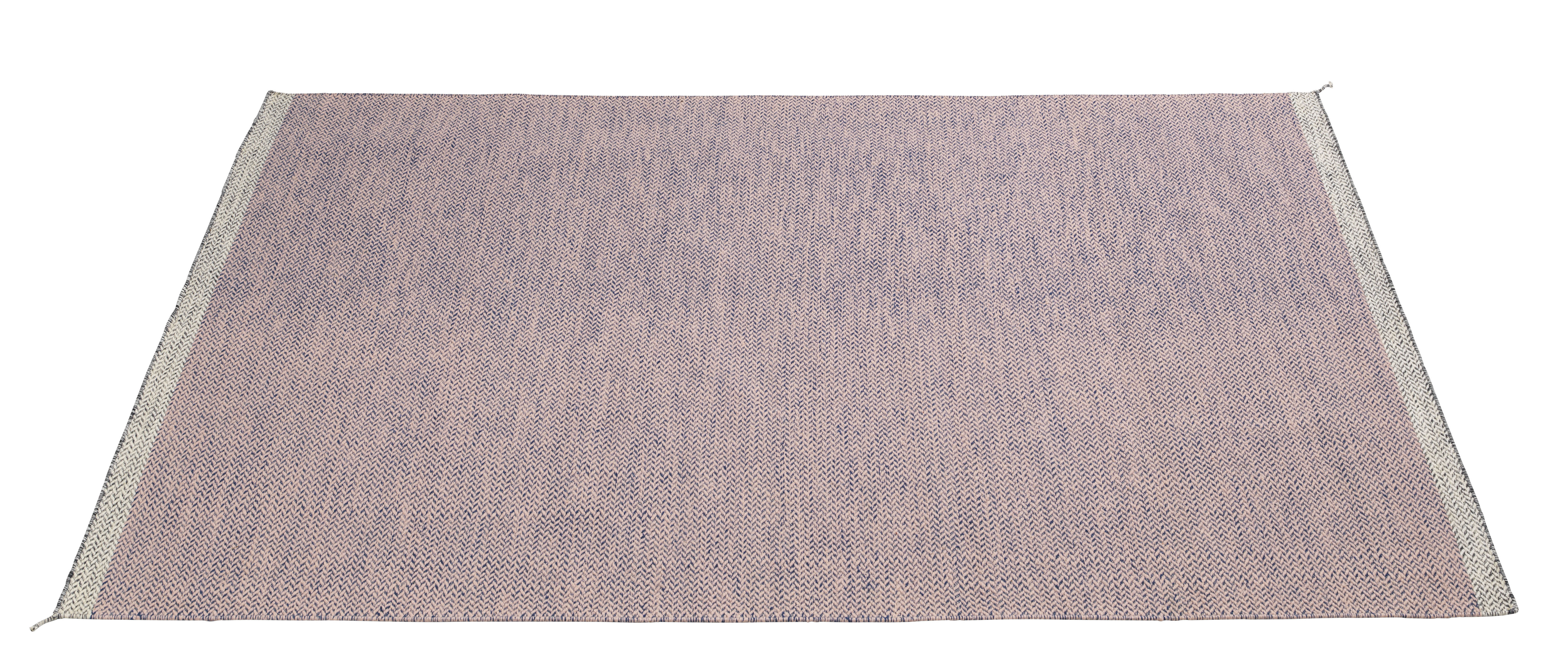 Decoration - Rugs - PLY Rug - 200 x 300cm by Muuto - Pink - Wool