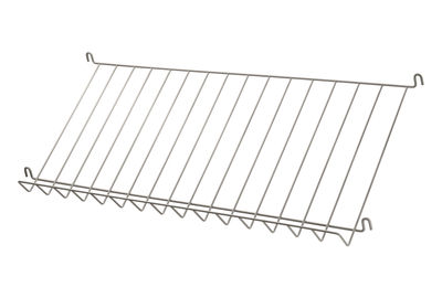 Arredamento - Scaffali e librerie - Scaffale String System - / Griglia - Portariviste & scarpe - L 78 cm di String Furniture - Beige - Acciaio laccato