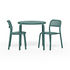 Toní Stacking chair - / Set of 2 - Perforated aluminium by Fatboy