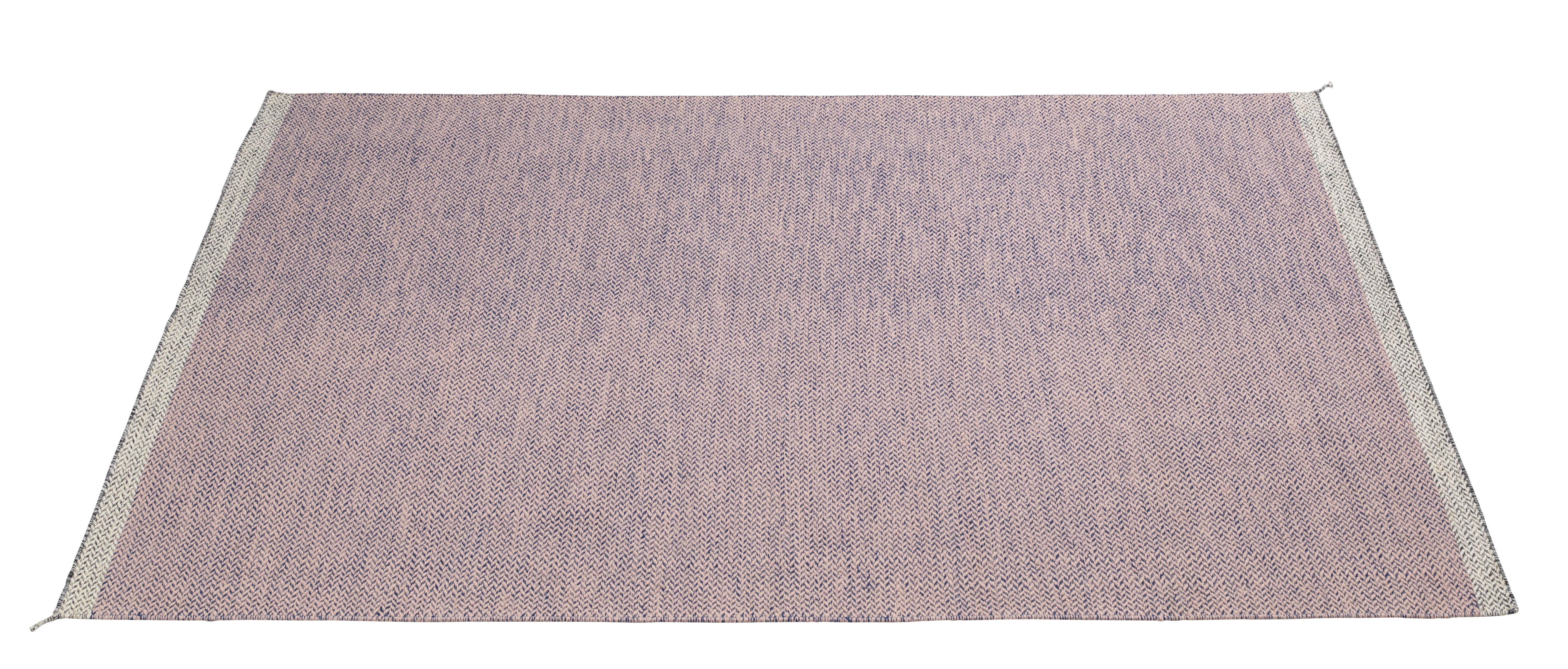 Interni - Tappeti - Tappeto PLY / 200 x 300 cm - Tessuto a mano - Muuto - Rose - Lana