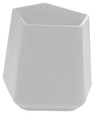 Outdoor - Vasi e Piante - Vaso per fiori Rock Garden - h  37 cm di Qui est Paul ? - Grigio - Polietilene
