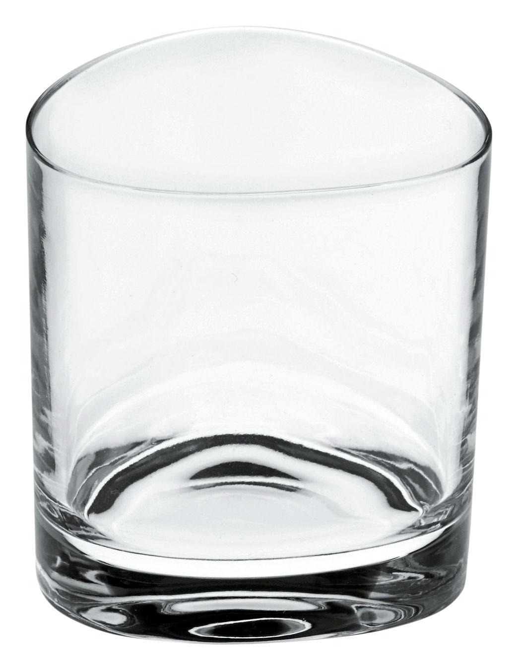 Arts de la table - Verres  - Verre à vin Colombina - Alessi - Cristal transparent - H 7.8 cm - Verre