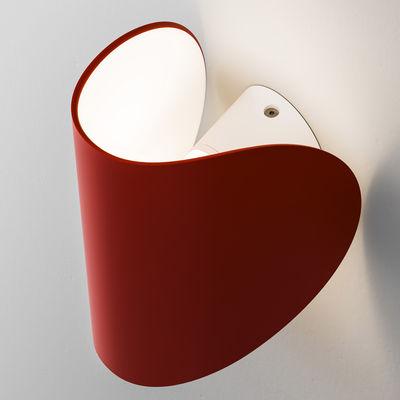 IO LED Wandleuchte - Fontana Arte - Rot