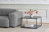 Eiffel Coffee table - / Square - L 65 x H 38 cm by Hay