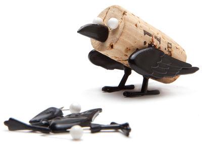 Arts de la table - Bar, vin, apéritif - Décoration Corker Oiseau / Pour bouchon de liège - Pa Design - Oiseau - Matière plastique