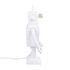 Lampe de table Robot / Porcelaine - H 40 cm - Seletti
