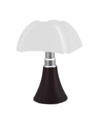 Lampe sans fil Minipipistrello LED / H 35 cm - Rechargeable USB - Martinelli Luce blanc,marron foncé en métal