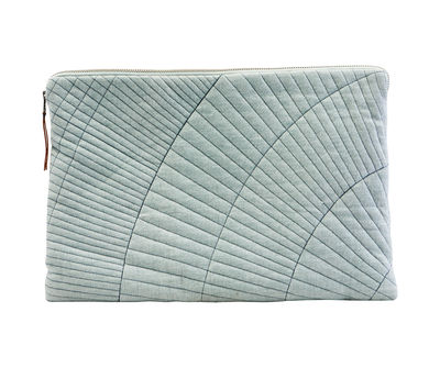 Accessories - High Tech Accessories - Sleeve Laptop cover - / 15.6 inches by House Doctor - 15.6 inches / Light green - Cotton, Polyester