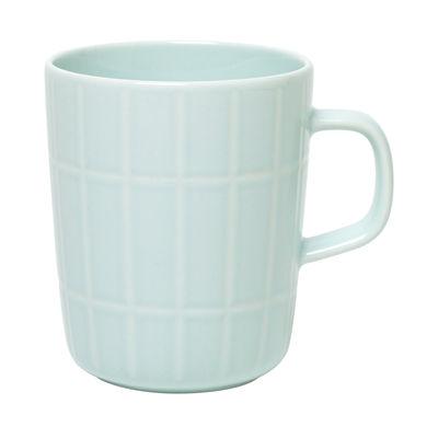 Arts de la table - Tasses et mugs - Mug Tiiliskivi / 25 cl - Marimekko - Tiiliskivi / Menthe - Grès