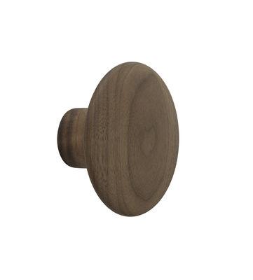Patère The Dots Wood / Small - Ø 9 cm - Muuto bois naturel en bois