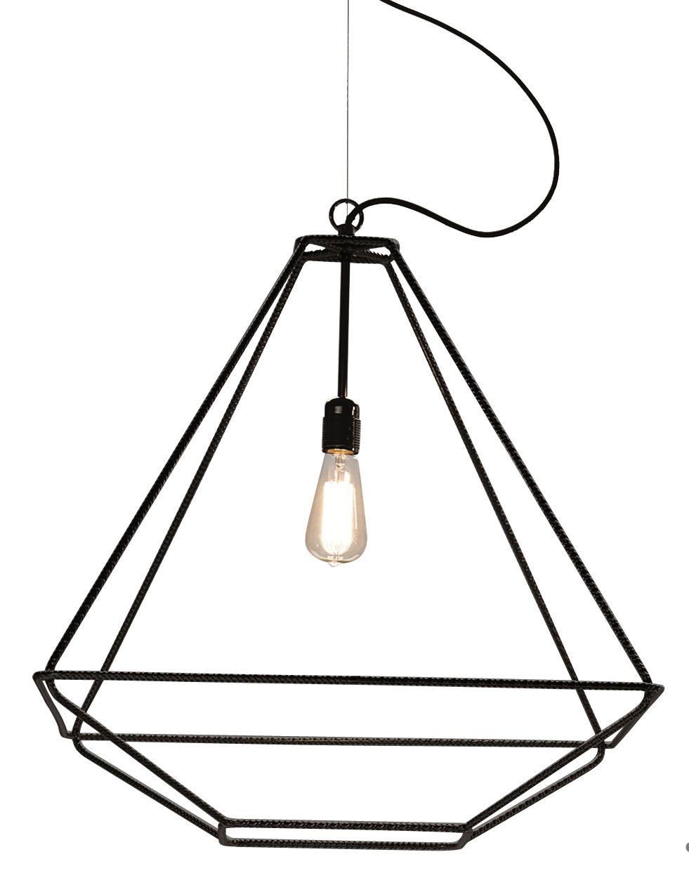 Lighting - Pendant Lighting - Con.Tradition Medium Pendant by Opinion Ciatti - Black - Metal