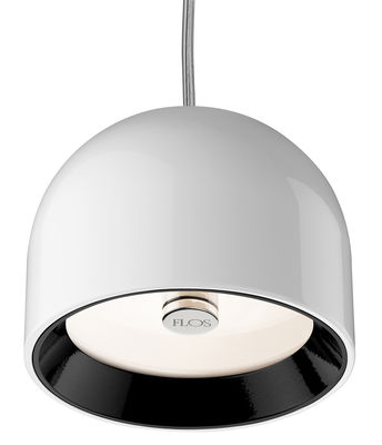 Lighting - Pendant Lighting - Wan Pendant by Flos - White - Aluminium