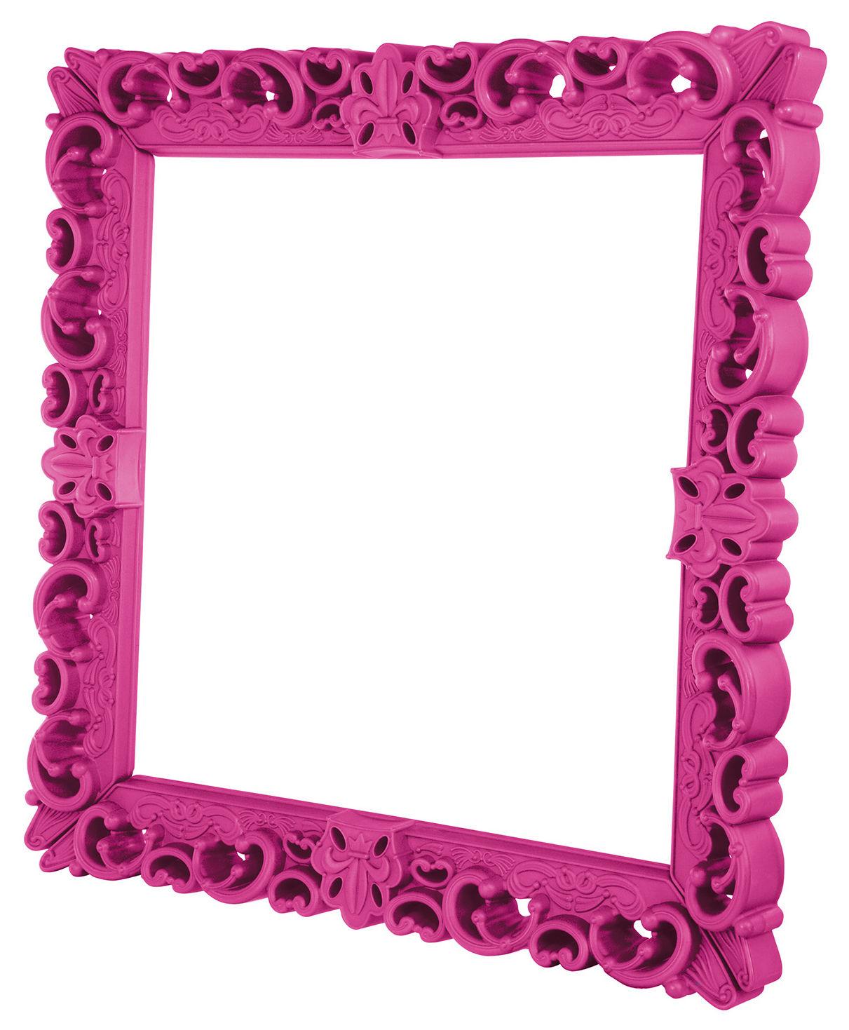 Dekoration - Dekorationsartikel - Frame of Love Rahmen / 153 x 153 cm - Design of Love by Slide - Rosa - rotationsgeformtes Polyäthylen