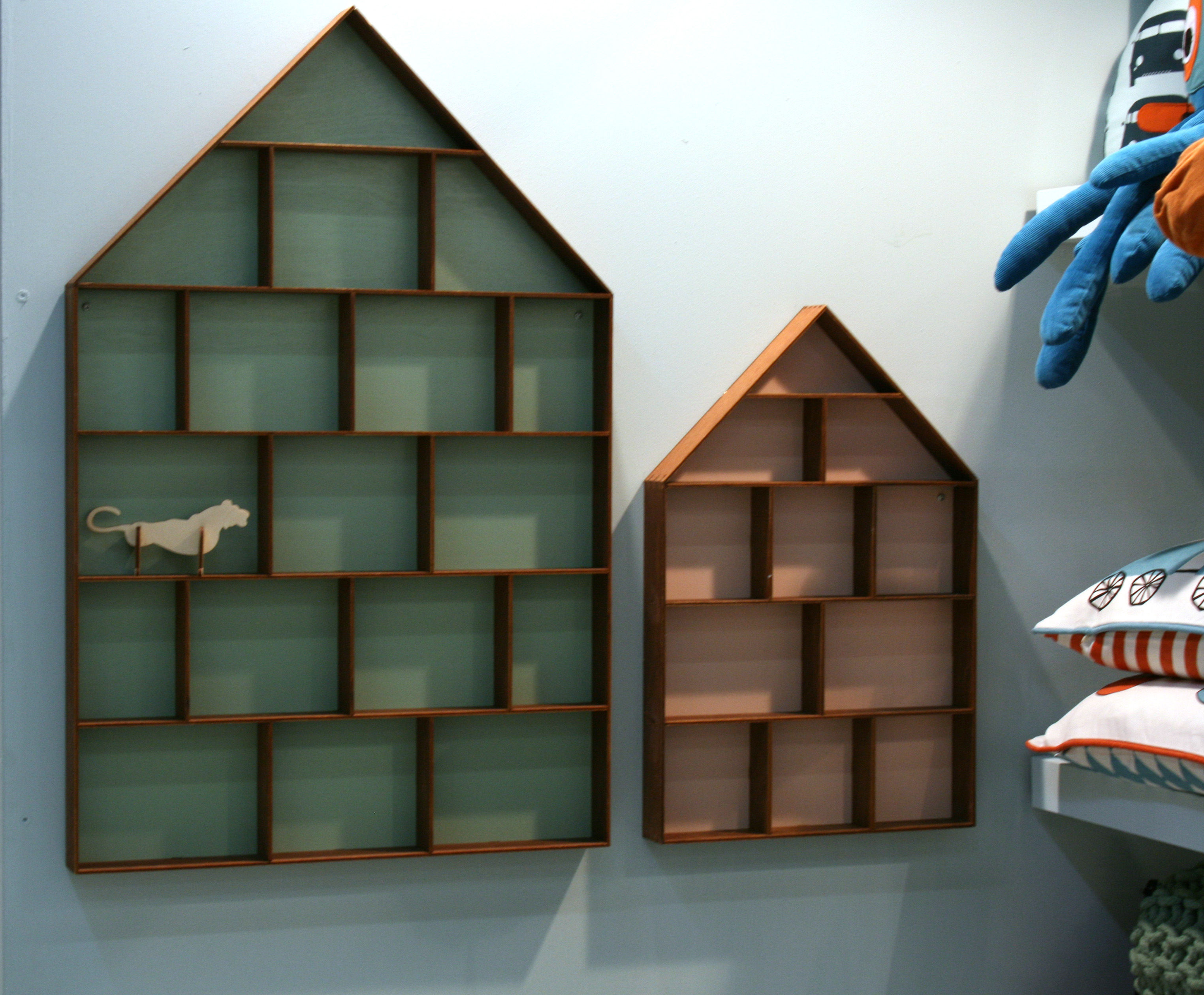 Exceptionnel The Little Dorm Shelf   Showcase 11 Rooms   Wood / White Background By Ferm  Living