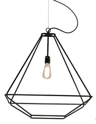 Illuminazione - Lampadari - Sospensione Con.Tradition Medium - / 60 x 60 x H 66 cm di Opinion Ciatti - Nero - Metallo