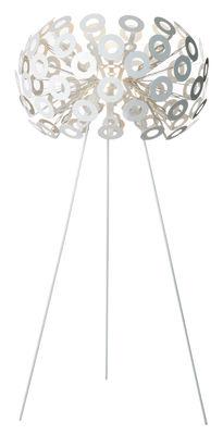 Leuchten - Stehleuchten - Dandelion Stehleuchte - Moooi - Weiß - bemalter Stahl