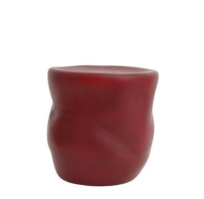 Mobilier - Tables basses - Table d'appoint Canova / Table d'appoint - Céramique - Moustache - Bordeaux - Céramique