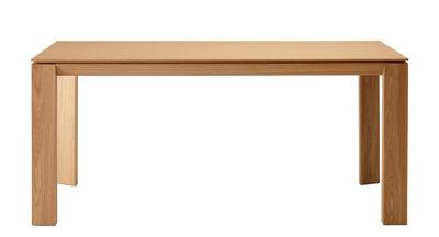 Arredamento - Tavoli - Tavolo Iru / 180 x 100 cm - Ondarreta - Quercia naturale - Rovere massello