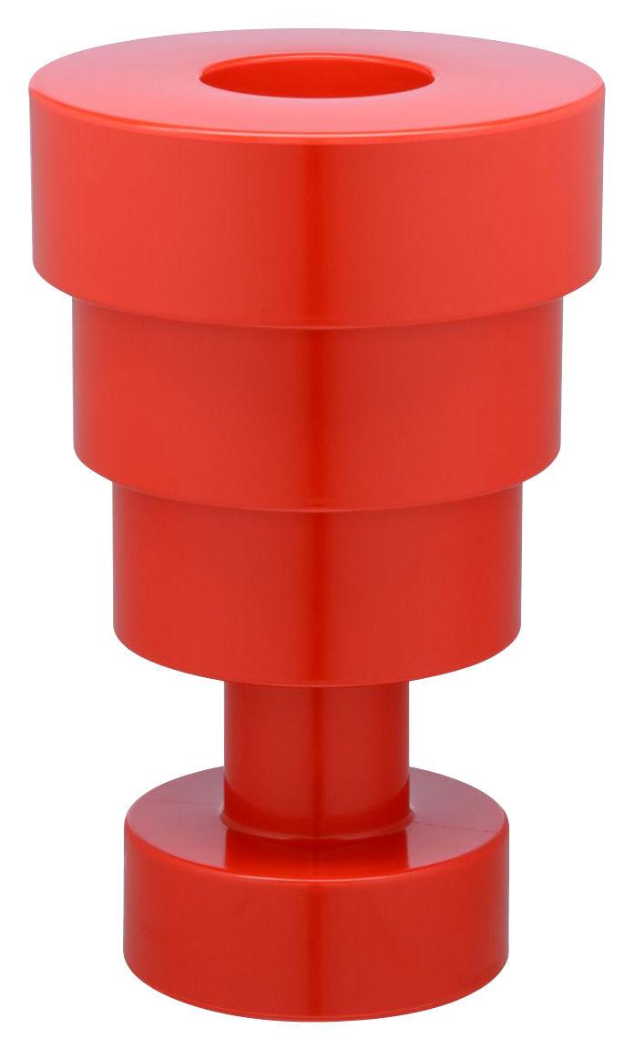 Déco - Vases - Vase Calice / H 48 x Ø 30 cm - By Ettore Sottsass - Kartell - Rouge - Technopolymère thermoplastique teinté dans la masse