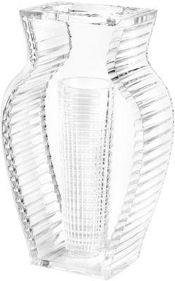 Decoration - Vases - I Shine Vase by Kartell - Crystal - PMMA