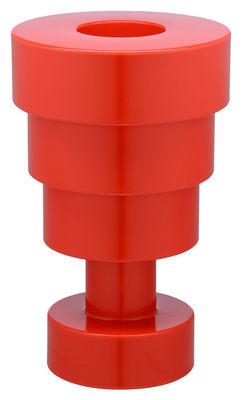 Interni - Vasi - Vaso Calice / H 48 x Ø 30 cm - By Ettore Sottsass - Kartell - Rosso - Tecnopolimero termoplastico colorato in massa