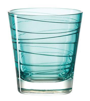 Verre à whisky Vario / H 9 cm - Leonardo bleu en verre