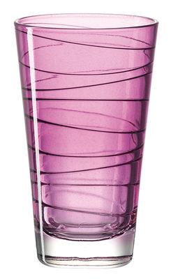 Verre long drink Vario / H 12,6 cm - Leonardo violet en verre