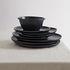 Bowl - / Ø 16.5 x H 7 cm - Matt sandstone by Au Printemps Paris