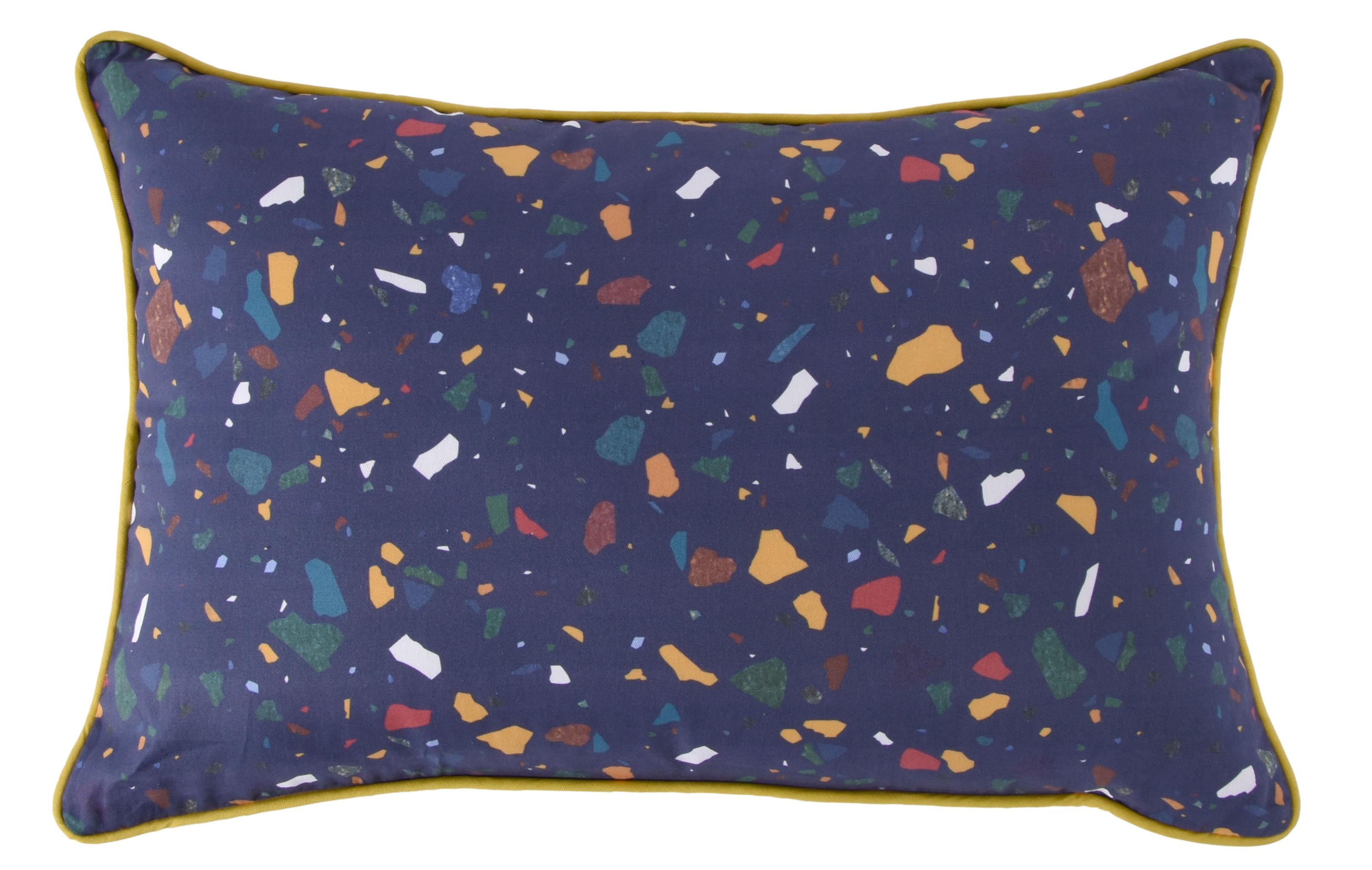 Déco - Coussins - Coussin My Terrazza / 60 x 40 cm - ENOstudio - Bleu marine - Coton