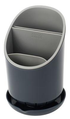 Cuisine - Vaisselle et nettoyage - Egouttoir à couverts Dock - Joseph Joseph - Gris - Plastique
