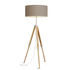 Darwin Floor lamp - / Fabric & wood - Adjustable height 143 to 173 cm by It's about Romi