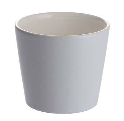 Gobelet Tonale / 20 cl - Alessi blanc,bleu en céramique